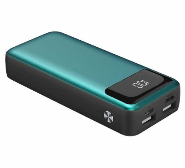 Xipin PX503 10000 mAh Powerbank Dijital Göstergeli - Yeşil