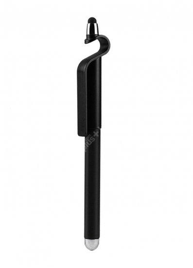 Zore Pencil Tükenmez Stylus Dokunmatik Kalem Stand - Siyah