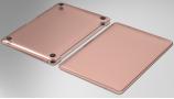 Wiwu Apple MacBook 13.3 inç Air Kılıf Macbook iShield Serisi Koruyucu Kapak - Pembe