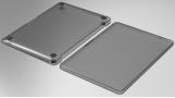 Wiwu Apple MacBook 13.3 inç Air Kılıf Macbook iShield Serisi Koruyucu Kapak - Siyah