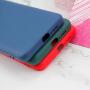 Xiaomi Mi 10T Kılıf Liquid Serisi İçi Kadife İnci Esnek Silikon Kapak - Siyah