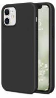 Apple iPhone 12 Mini (5.4) Kılıf İnce Mat Esnek Silikon - Siyah