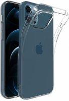 Apple iPhone 12 Pro (6.1) Kılıf Ultra İnce Esnek Süper Silikon 0.3mm - Şeffaf