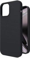 Apple iPhone 12 Pro Max (6.7) Kılıf İçi Kadife Mat Yüzey LSR Serisi Kapak - Siyah
