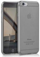 Apple iPhone 6 Plus Kılıf Ultra İnce Kaliteli Esnek Silikon 0.2mm - Şeffaf