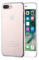 Apple iPhone 8 Plus Kılıf Ultra İnce Kaliteli Esnek Silikon 0.2mm - Şeffaf