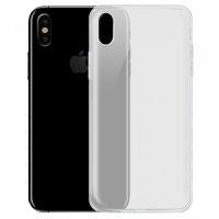 Apple iPhone X Kılıf Ultra İnce Kaliteli Esnek Silikon 0.2mm - Şeffaf