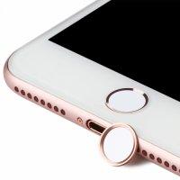 Benks Apple iPhone Serisi Home Düğme Stickerı - Rose Gold