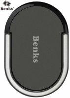 Benks Ring Stand Yüzüklü Standlı Telefon Tutucu - Siyah