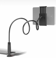 Ergonomik 360 Dönebilen Masa Tablet Telefon Tutucu - Siyah