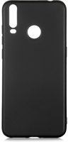 General Mobile GM 10 Kılıf İnce Mat Esnek Silikon - Siyah