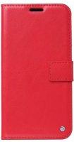 General Mobile GM 20 Kılıf Standlı Kartlıklı Cüzdanlı Kapaklı - Kırmızı