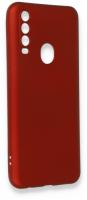 General Mobile GM 20 Pro Kılıf Silikon İnce Mat Esnek Kamera Korumalı - Kırmızı