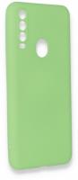 General Mobile GM 20 Pro Kılıf Silikon İnce Mat Esnek Kamera Korumalı - Yeşil