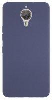 General Mobile GM 5 Plus Kılıf İnce Mat Esnek Silikon - Lacivert