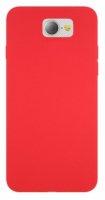 General Mobile GM 6 Kılıf İnce Mat Esnek Silikon - Kırmızı