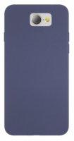 General Mobile GM 6 Kılıf İnce Mat Esnek Silikon - Lacivert