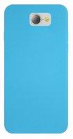 General Mobile GM 6 Kılıf İnce Mat Esnek Silikon - Mavi