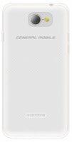 General Mobile GM 6 Kılıf Ultra İnce Kaliteli Esnek Silikon 0.2mm - Şeffaf