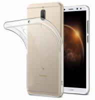 Huawei Mate 10 Lite Kılıf Ultra İnce Kaliteli Esnek Silikon 0.2mm - Şeffaf