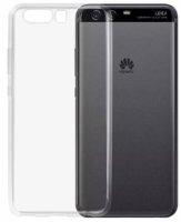 Huawei P10 Kılıf Ultra İnce Kaliteli Esnek Silikon 0.2mm - Şeffaf