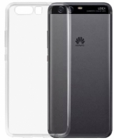 Huawei P10 Plus Kılıf Ultra İnce Kaliteli Esnek Silikon 0.2mm - Şeffaf