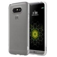 LG G5 Kılıf Ultra İnce Kaliteli Esnek Silikon 0.2mm - Şeffaf