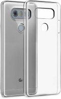 LG G6 Kılıf Ultra İnce Kaliteli Esnek Silikon 0.2mm - Şeffaf