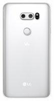LG V30 Kılıf Ultra İnce Kaliteli Esnek Silikon 0.2mm - Şeffaf