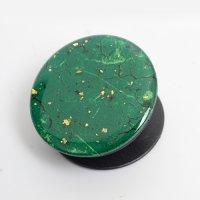 Pop Socket Telefon Tutucu Granit Desenli - Yeşil