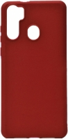 Reeder P13 Blue Max Kılıf Zore Biye Silikon - Kırmızı
