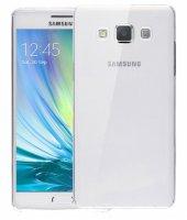 Samsung Galaxy A3 Kılıf Ultra İnce Kaliteli Esnek Silikon 0.2mm - Şeffaf