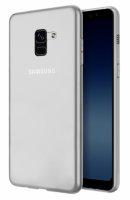 Samsung Galaxy A8 2018 Plus Kılıf Ultra İnce Kaliteli Esnek Silikon 0.2mm - Şeffaf