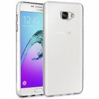 Samsung Galaxy A9 2016 Kılıf Ultra İnce Kaliteli Esnek Silikon 0.2mm - Şeffaf
