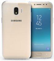 Samsung Galaxy J2 Pro Kılıf Ultra İnce Kaliteli Esnek Silikon 0.2mm - Şeffaf