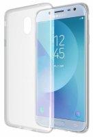 Samsung Galaxy J3 Pro Kılıf Ultra İnce Kaliteli Esnek Silikon 0.2mm - Şeffaf
