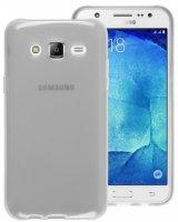 Samsung Galaxy J7 Kılıf Ultra İnce Kaliteli Esnek Silikon 0.2mm - Şeffaf