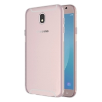 Samsung Galaxy J7 Pro Kılıf Ultra İnce Kaliteli Esnek Silikon 0.2mm - Şeffaf