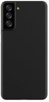 Samsung Galaxy S21 Plus Kılıf Mat Esnek Kaliteli Ultra İnce PP Silikon 0.2mm - Siyah