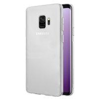Samsung Galaxy S9 Kılıf Ultra İnce Kaliteli Esnek Silikon 0.2mm - Şeffaf