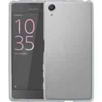 Sony Xperia XA Ultra Kılıf Ultra İnce Kaliteli Esnek Silikon 0.2mm - Şeffaf