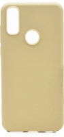 Vestel Venus E5 Kılıf Zore Biye Silikon - Gold