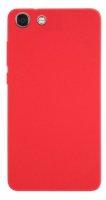 Vestel Venus V4 Kılıf İnce Mat Esnek Silikon - Kırmızı