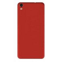 Vestel Venus V5 Kılıf İnce Mat Esnek Silikon - Kırmızı
