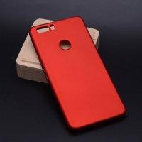 Vestel Venüs Z20 Kılıf İnce Mat Esnek Silikon - Kırmızı