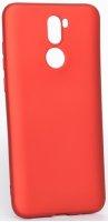 Vestel Venüs Z30 Kılıf İnce Mat Esnek Silikon - Kırmızı