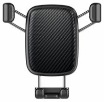 Voero X8 Karbon Araç Telefon Tutucu - Siyah