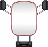 Voero X8 S Metal Araç Telefon Tutucu - Gümüş