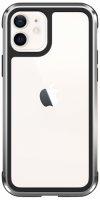 Wiwu Apple iPhone 11 Kılıf Defence Armor Serisi Arkası Şeffaf Lisanslı Kapak - Gümüş