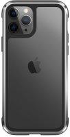 Wiwu Apple iPhone 11 Pro Max Kılıf Defence Armor Serisi Arkası Şeffaf Lisanslı Kapak - Gümüş
